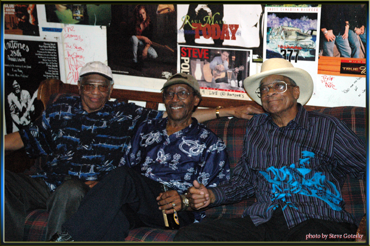 "Willie ""Big Eyes"" Smith, Hubert Sumlin, and Calvin ""Fuzz"" Jones"